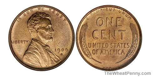 1909 S VDB Wheat Penny