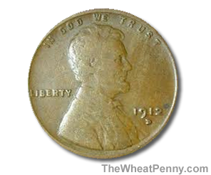 1912 D Wheat Penny