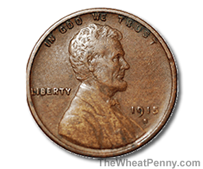 1915 S Wheat Penny