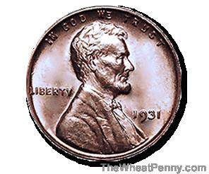 1931 Wheat Penny