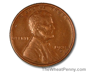 1935 S Wheat Penny