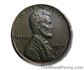 1937 Wheat Penny