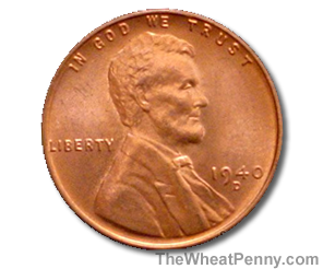1940 D Wheat Penny