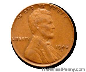 1945 D Wheat Penny
