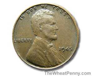 1945 Penny http://www.thewheatpenny.com/tag/1945-wheat-penny-value/