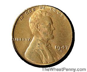 1947 S Wheat Penny